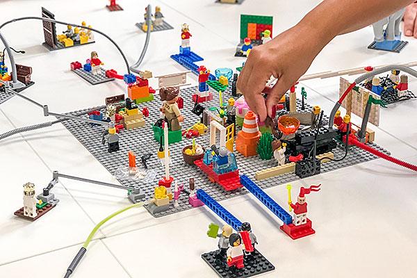 Lego Serious Play im Einsatz