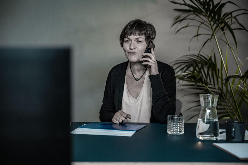 Hanka Schiebold, Dozentin des Online Leadership Training